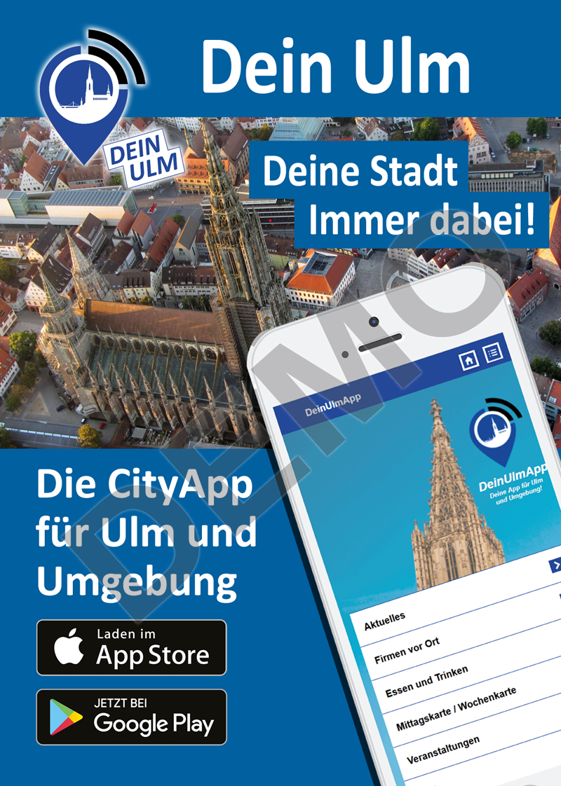 Flyer zum Stadtportal